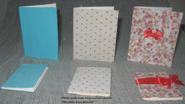 cartes et carnets