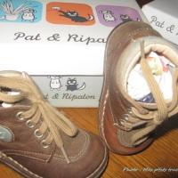 """Les chaussures """"Pat et ripaton"""""""