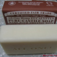 Test savon Dr. Bronner's avec Purnatural
