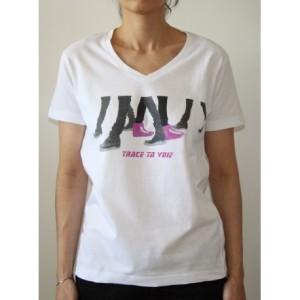 t-shirt-blanc-femme-graphique-trace-ta-voie-rose