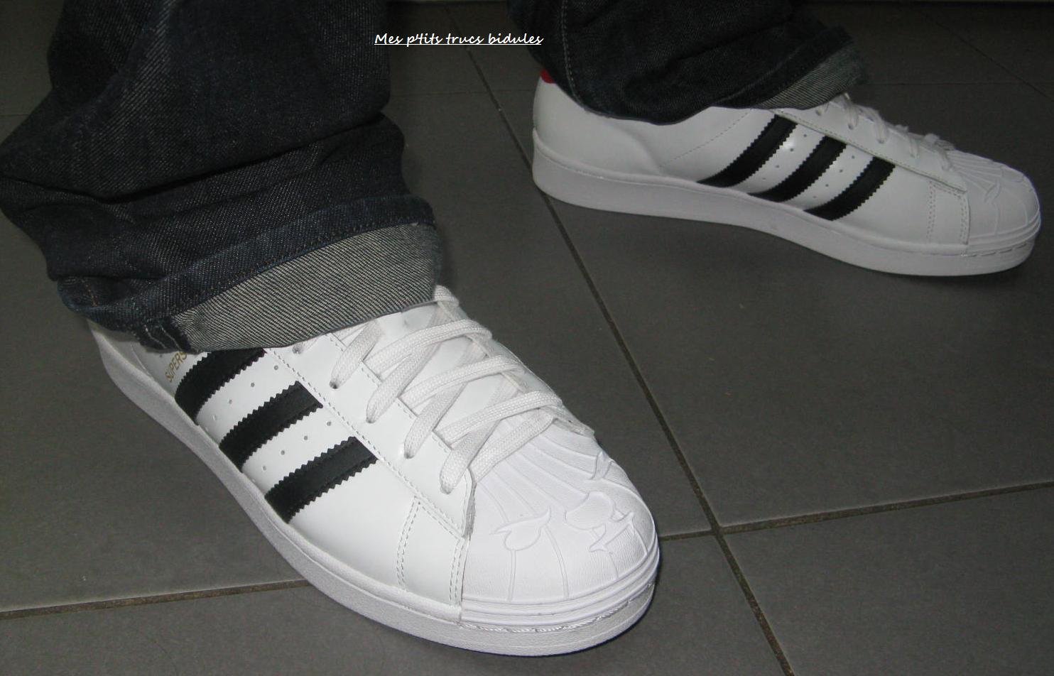good service half off professional sale Adidas Superstar « Nigo Bearfoot » Edition limitée pour ...