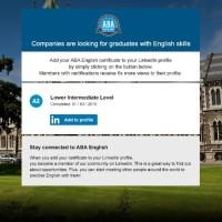 Apprentissage de l'anglais avec ABA English : Présentation + interview
