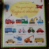 """""""Mon grand Imagier : Engins et Véhicules"""" des éditions Usborne"""