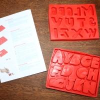 Mon alphabet en plâtre avec Joustra + concours !