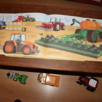 Mon livre des gros tracteurs des éditions Usborne