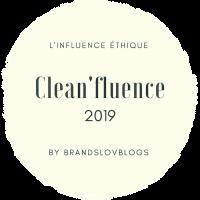 Le Label Clean'fluence de Brandslovblogs #cleanfluence + interview