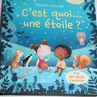 """""""C'est quoi une étoile """" des éditions Usborne"""