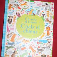 """""""Cherche et trouve, chiens et chats """" des éditions Usborne"""