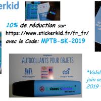 Les étiquettes personnalisées Stickerkid